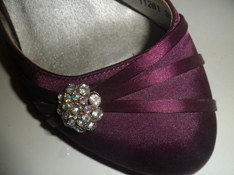 fialové topánky, 37