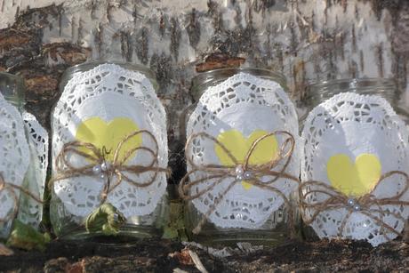 ozdobné sklenené poháre,