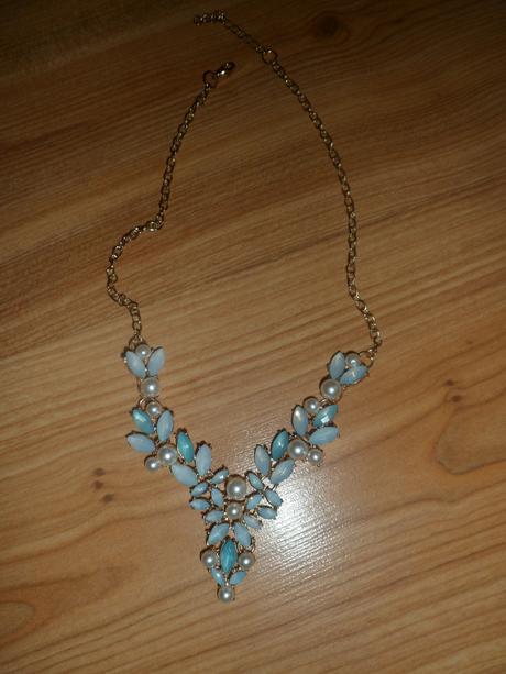 tyrkysový náhrdelník,