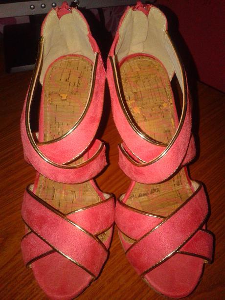 Lososové sandalky, 36