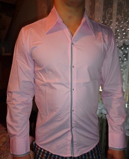 Nenosená Ružová košeľa, M