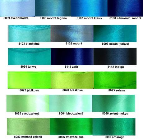 Náramky pre družičky rôzne farby,