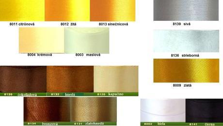 Pierko pre ženícha v rôznych farbách,