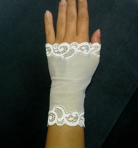 Svadobné rukavičky Blanca,