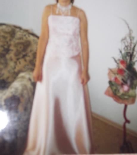 Spoločenské šaty saténové, 36