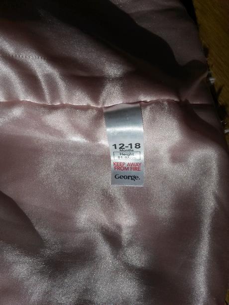 růžový dětský kabátek, 24