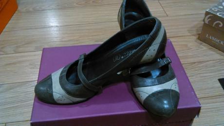 Kožené topánky Wenetti , 37
