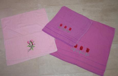 2 osušky a uterák,