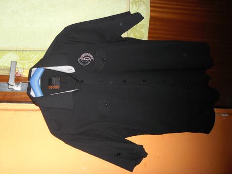 Čierne košeľa, XXL
