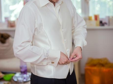 svadobná košeľa značky venergi, 38