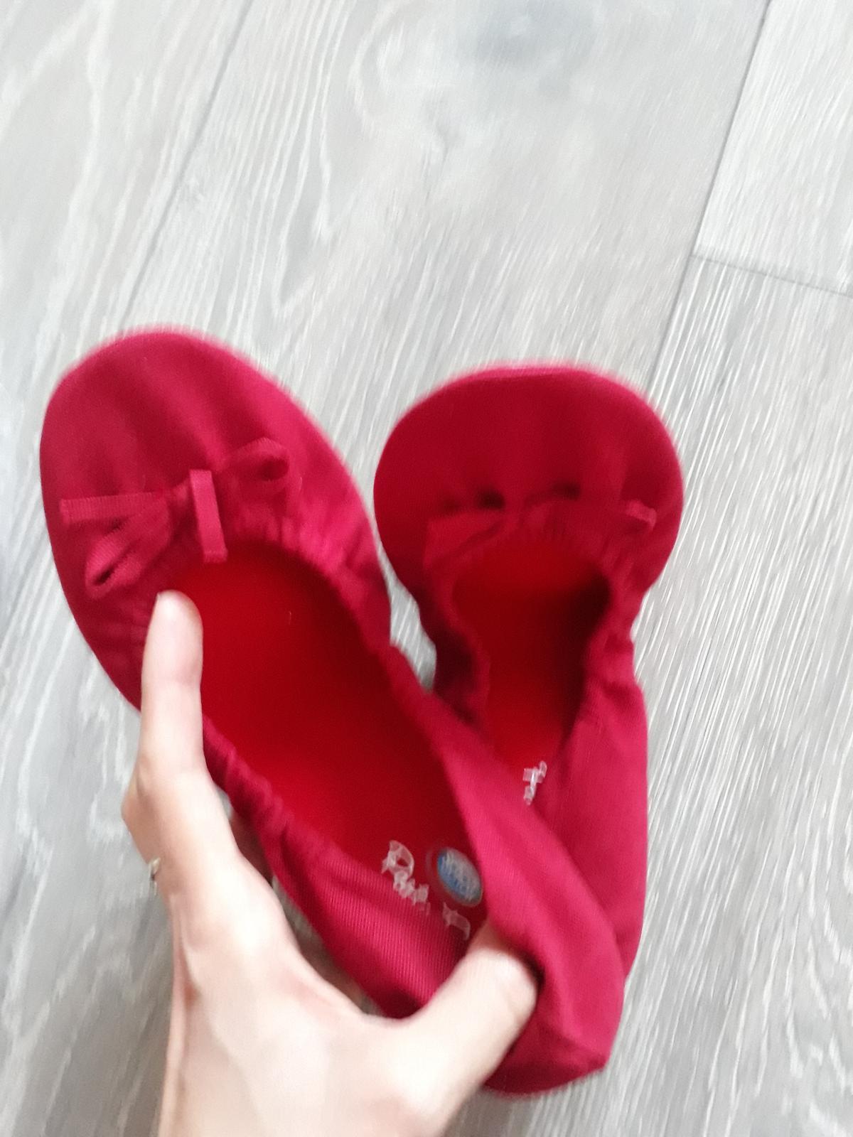 71d19d196ab4 Červené balerínky