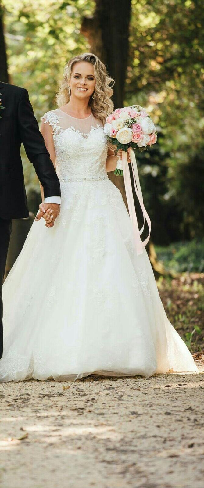 Romantické svadobné šaty  f53f6dfd3a8