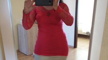 Čipkované tričko Bonprix, 36