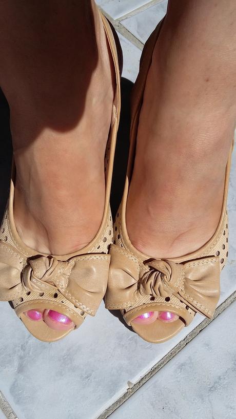 Sandálky s mašľou, 37