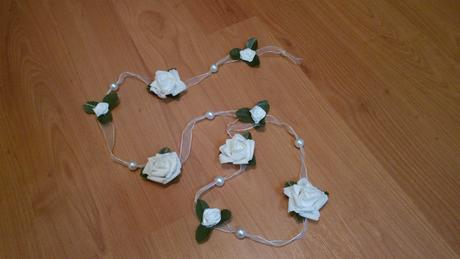 Svatební girlandy 4 ks,