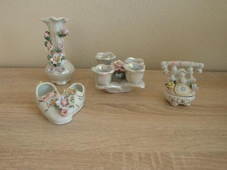 Porcelánové dekorácie,
