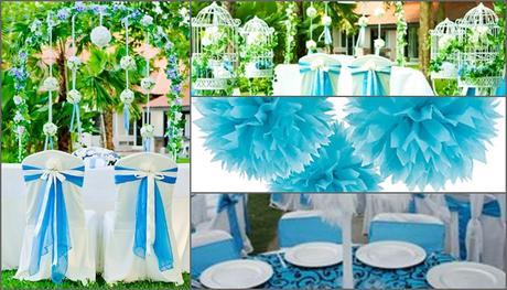 Svadobná výzdoba, organizácia svadieb, osláv,