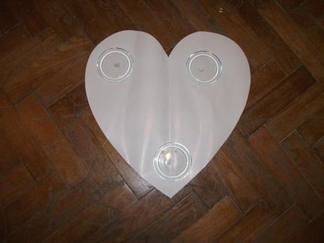 Šablony srdce- velikost 60x60cm,