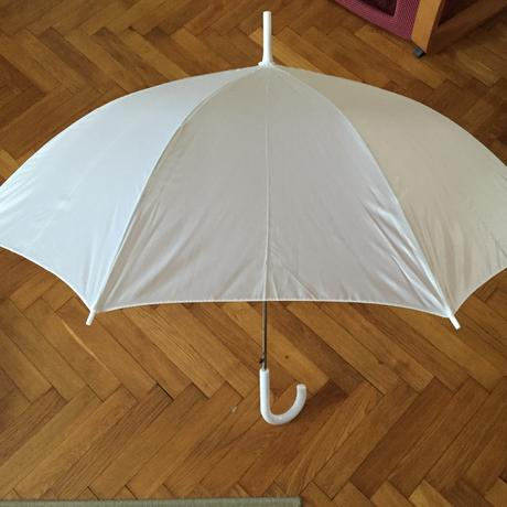 Bílý deštník,