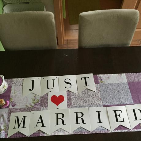 Girlanda just married ,