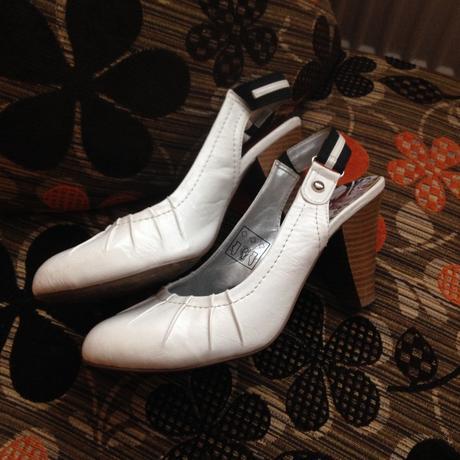 Bílé boty vel. 38, 38