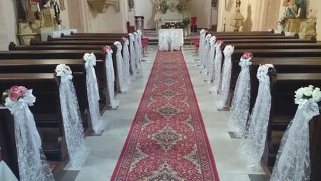 Kompletná svadobná výzdoba ,