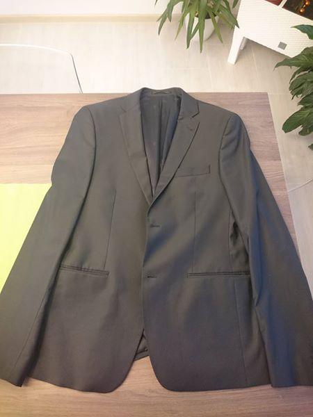 Pánský oblek Pietro Filipi prodloužený slim fit, 52