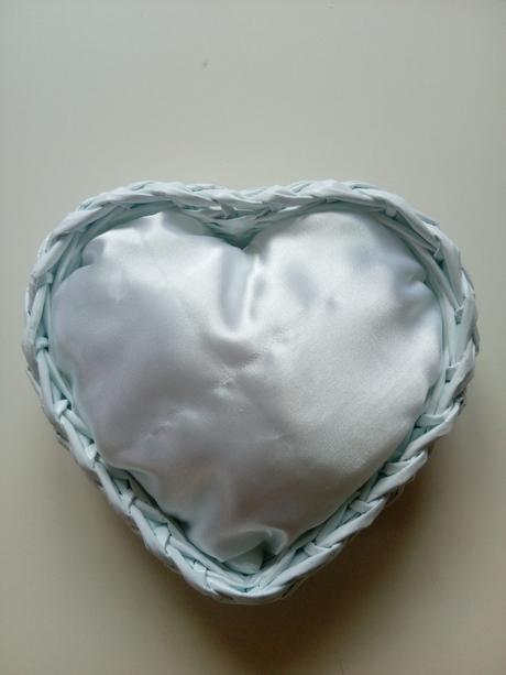 Srdíčkový polštářek,