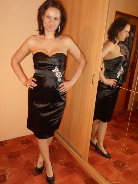 Družičkovské slavnostní šaty - koktejlky, 36