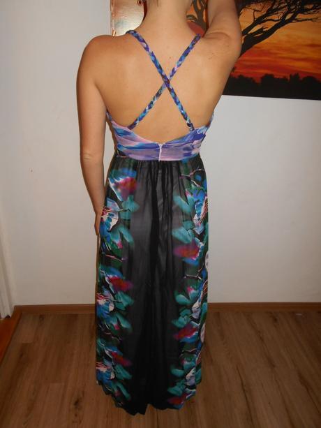 Šifonové družičkovské šaty , 38
