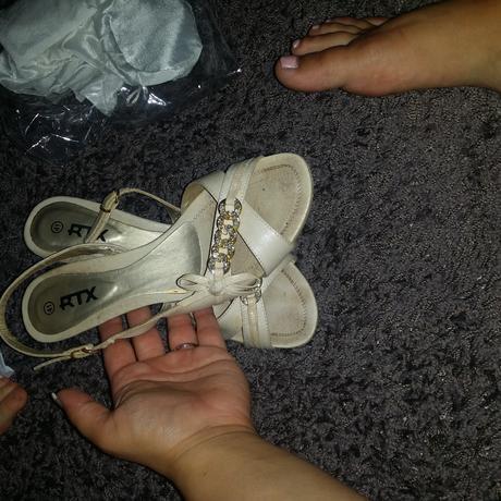 boty s bižu zdobením , 41