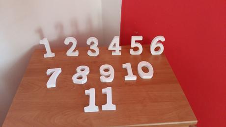 Čísla na stôl,