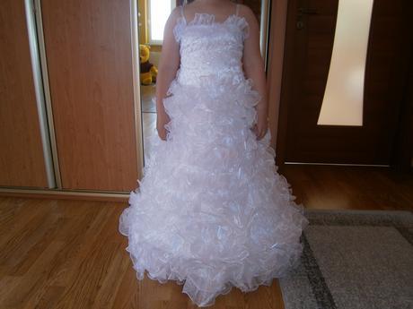 šaty pre družičku alebo na prve sv. prijimanie, 146