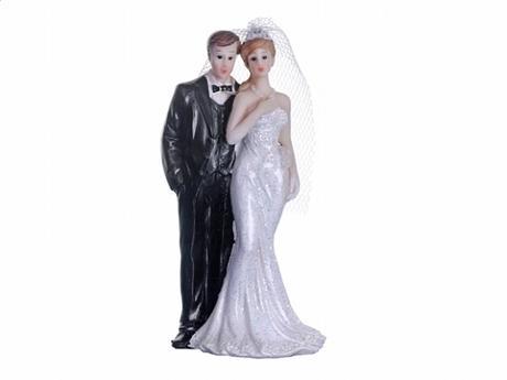Figurka novomanželé  10cm,