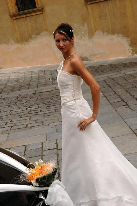 Prodej -  svatební šaty Pronuptia, vel.38/40, 40