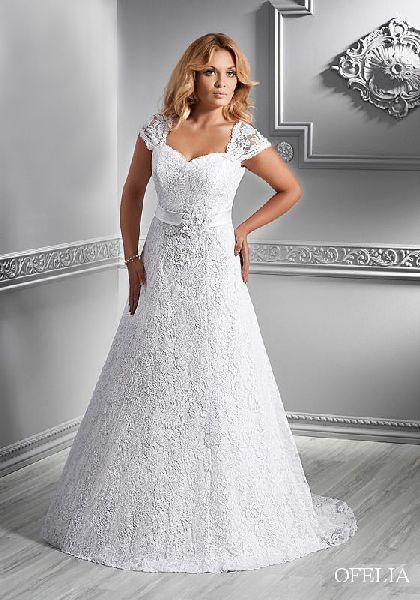 Svatební šaty XXL, 50
