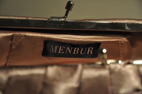 Saténová kabelka Menbur,