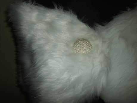 Kozusinova pelerinka s dlhym vlasom,