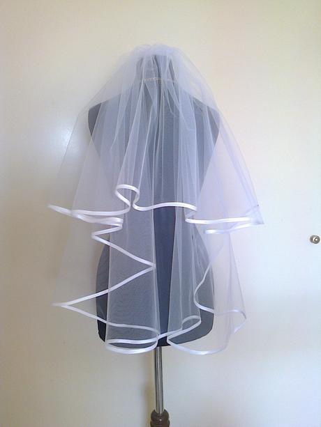 svadobny zavoj s lemom 2-vrstvovy 70cm,