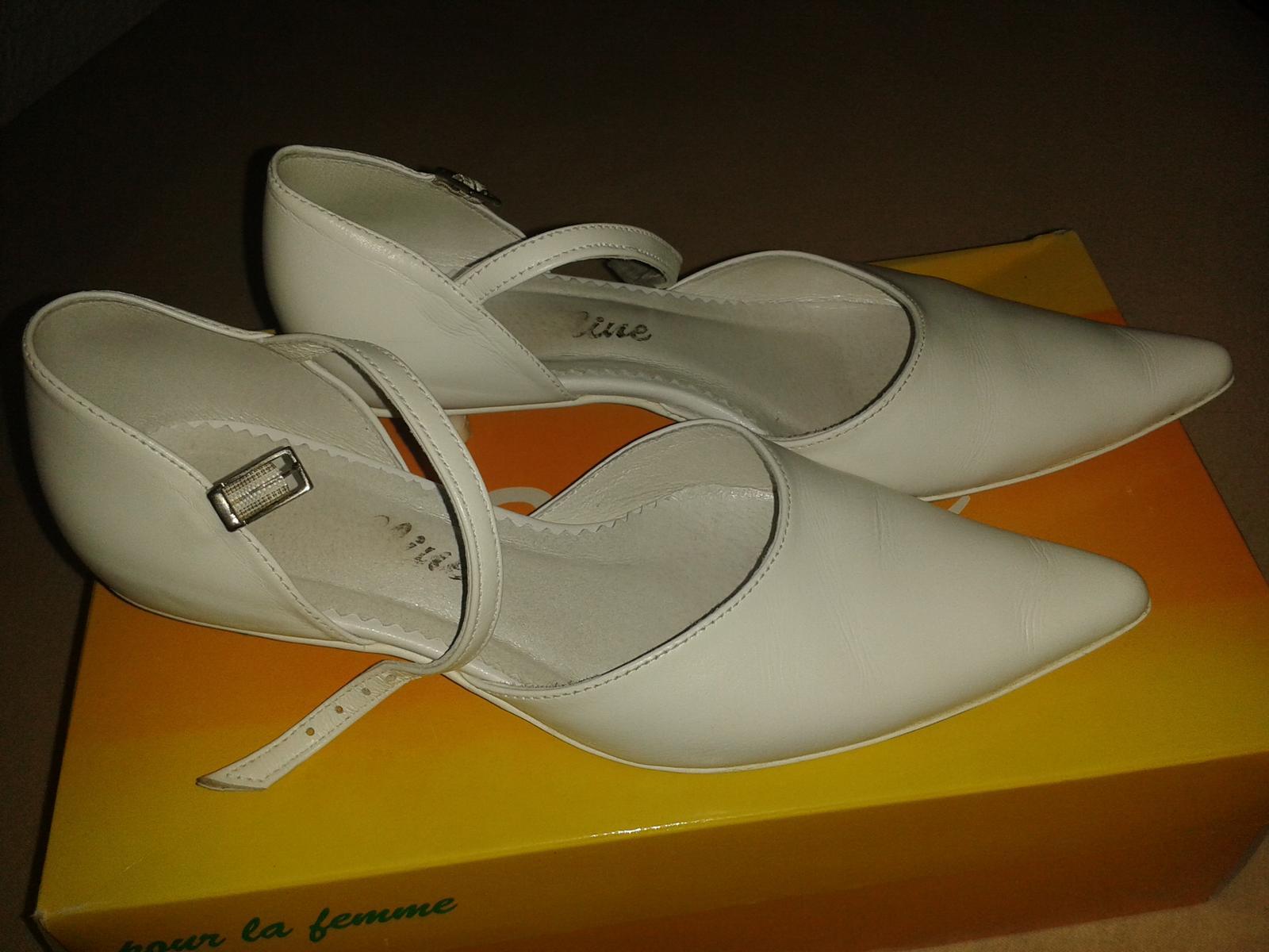 daba4ee75c Svadobné topánky na 1