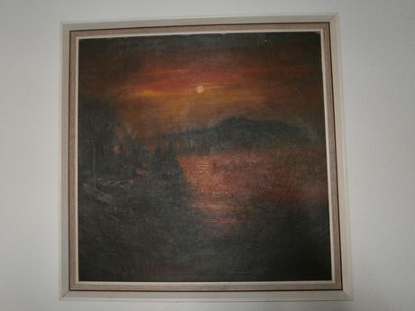 obraz východ slnka,