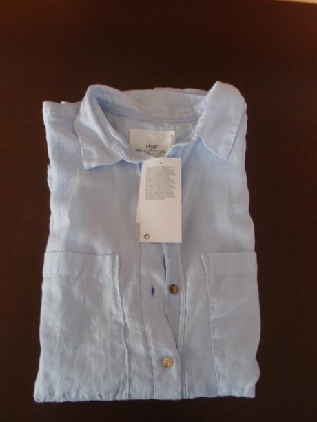 Světle modrá košile/halenka, 36