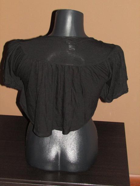 Tričkové bolerko, 158