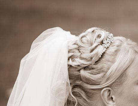 Celenka do svadobneho ucesu,