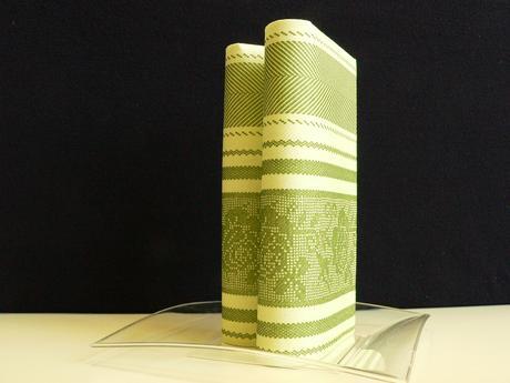 Airlaid ubrousky INA 40x40 cm Lemon-green,