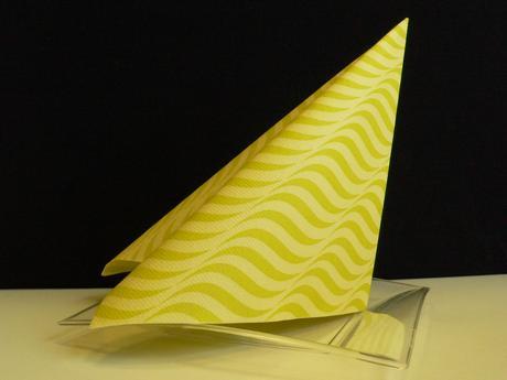 Airlaid ubrousky NIZZA 40x40 cm Lime,