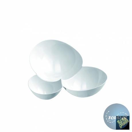 Fingerfoor miska MOLECOLA - 100 ml bílá,