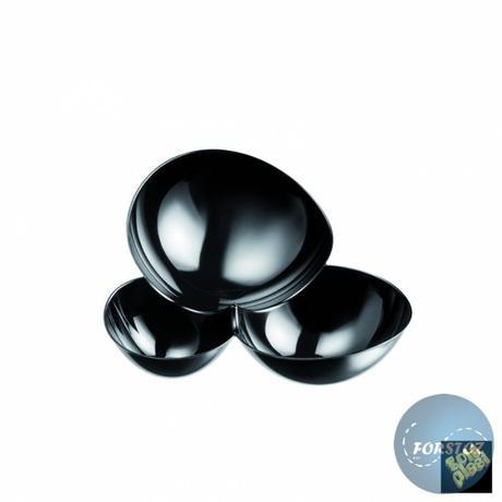 Fingerfoor miska MOLECOLA - 100 ml černá,