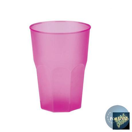 Koktejlová sklenice různé barvy - 350 ml,