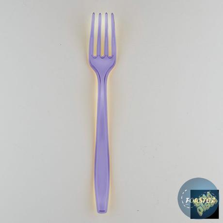 Luxusní vidlička různé barvy - 190 mm lila,